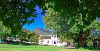 Resturant area on left @ Lanzerac Manor & Winery_Stellenbosch_Western Cape. ©PhilRHamar,Cape Winelands Cycling